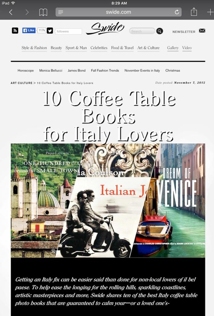 Dream of Venice in Swide magazine