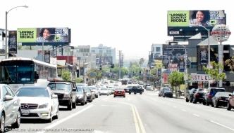 Duelling billboards