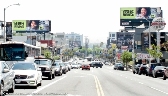 Duelling billboards