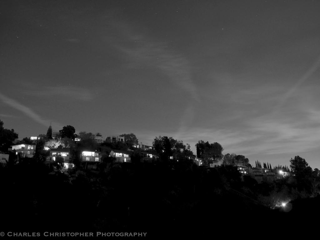 Night falls on East L.A.