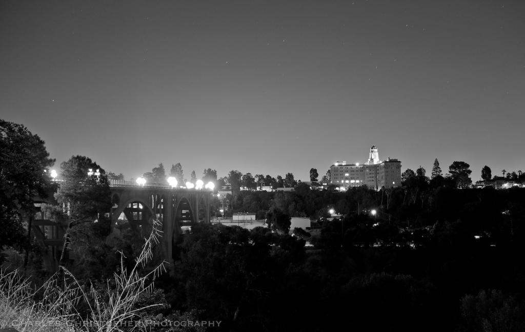 Night over the Arroyo Seco