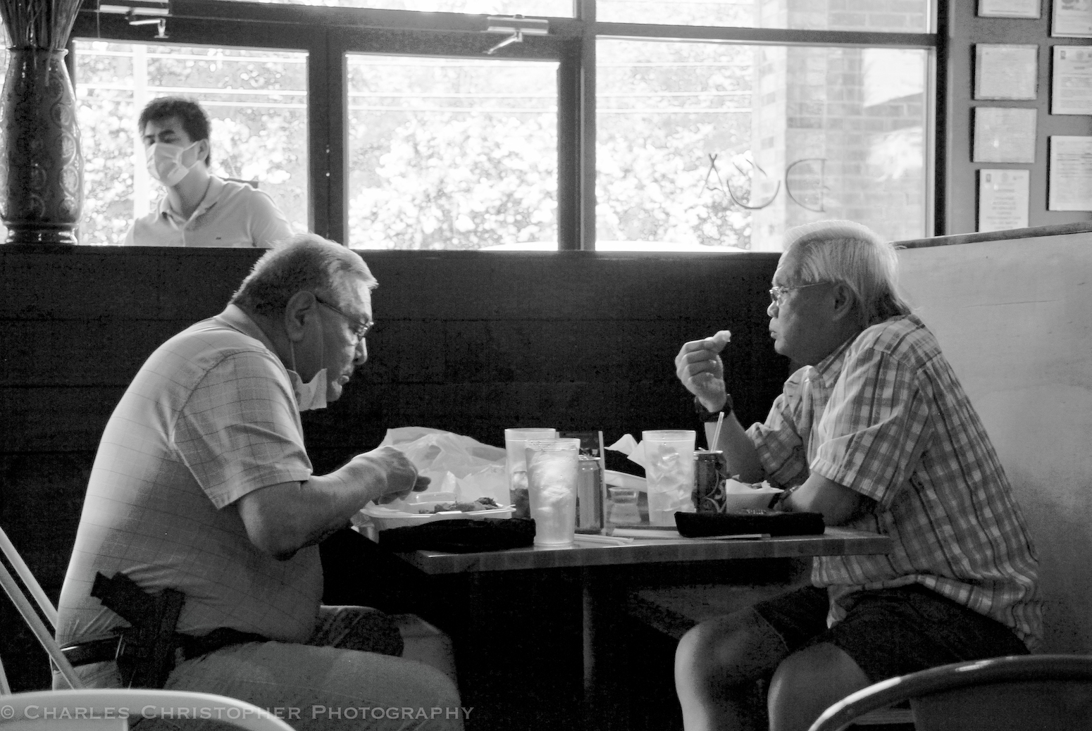 Lunch in the time of COVID-1984